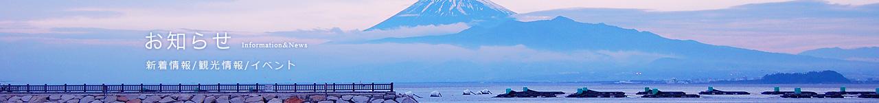 沼津市旅館ホテル組合連合会公式ホームページ公開